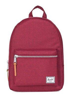 Amabile Herschel Grove X-small Backpack Zaino Borsa Winetasting Crosshatch Rosso Nuovo-