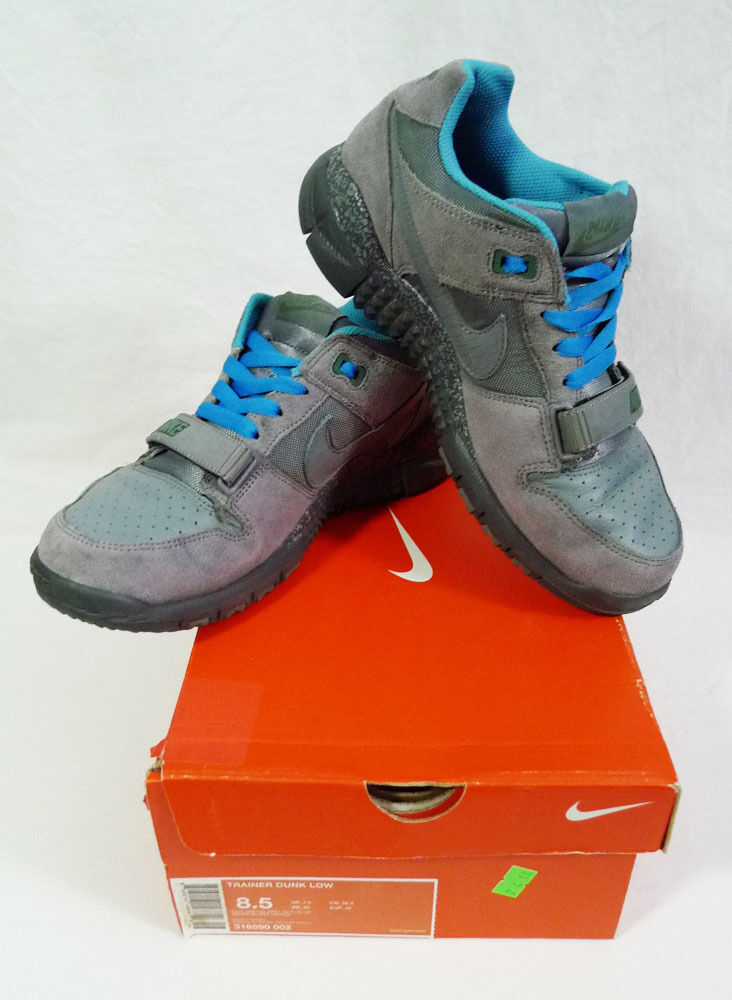 Nike Nike Nike Trainer Dunk Low Cool grau Größe 8.5 b25105