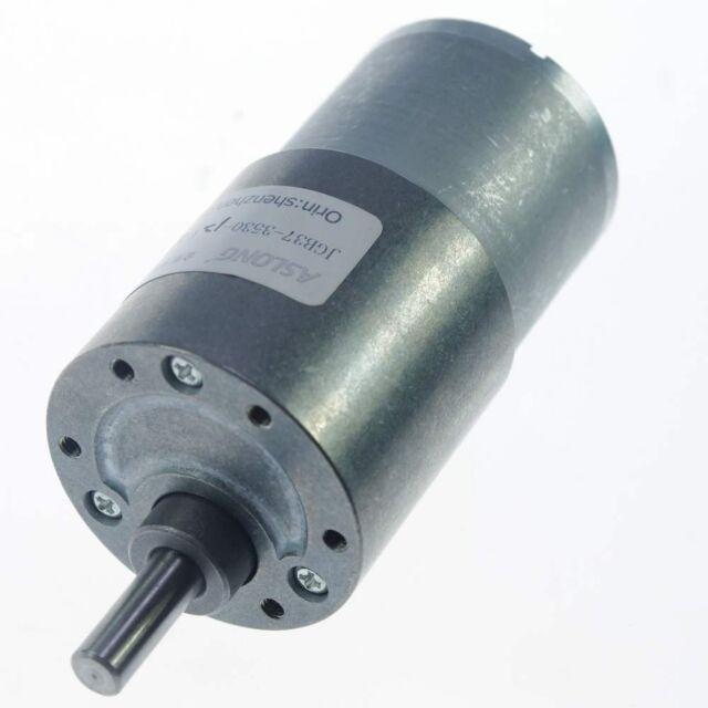JGB37-3530 12V1000RPM Ouput Speed  Geared Gearhead DC Motor shaft 6mm Ratio 1:10