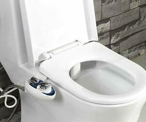 Self Cleaning Dual Nozzle Hot and Cold Water Non-Electric Luxe Bidet Neo 320