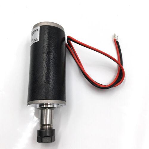 ER11 Natural Cooled 150W Brushed Spindle Motor DC24 CNC DIY Router Machine