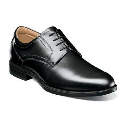 Florsheim shoes Midtown Waterproof Oxford Black Leather Lace up 12154-001