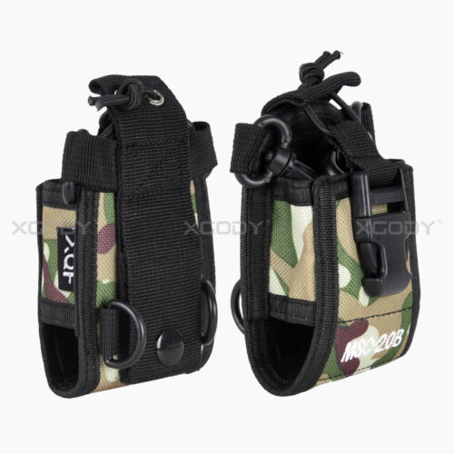 2x MSC-20B Portable Radio Case Holder Bag for Baofeng UV82 UV5R 888S Camouflage