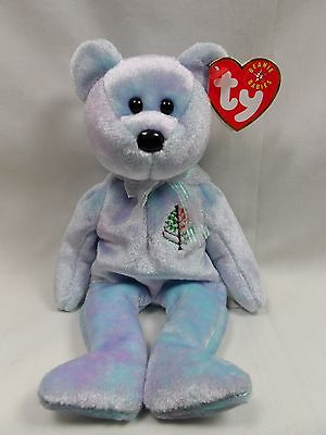 ISSY the Four-Seasons Hotel Bear MWMTs 8.5 inch Vancouver TY Beanie Baby