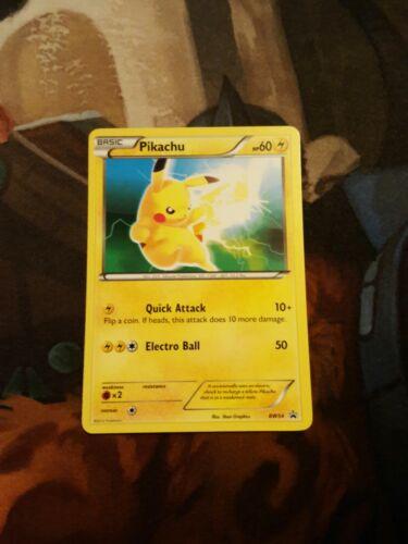 Pikachu BW54 2012 Promo Card Pokemon TCG