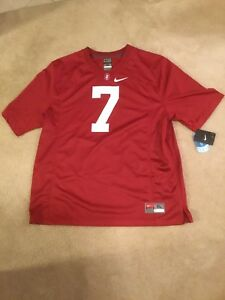 newest 6a854 59dc5 Details about New Nike Stanford Cardinal #7 John Elway Football Jersey  Men's XL Retail $90