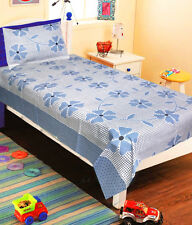 Homefab India Cotton Single Bed-Sheet with 1 Pillow Cover (Single145)