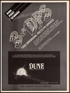 DUNE_Fremen Suit / DON POST STUDIOS__Original 1983 Trade Print AD / poster_3-DPS
