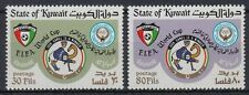 Kuwait 1982 ** Mi.934/35 Fußball Football Weltmeisterschaft World Cup Spanien