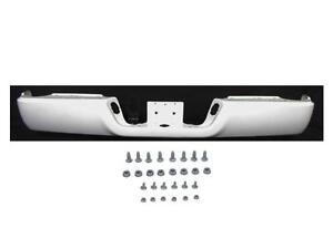 For 09-15 Ram 1500 Rear Bumper Chrome Face Bar Screws W//O Sensor NO Dual Exhaust