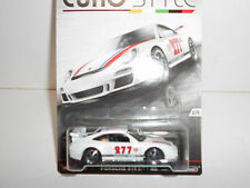 PORSCHE 911 GT3 RS EURO STYLE REAL RIDERS HOT WHEELS 1/64
