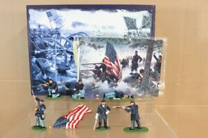 BRITAINS-17245-AMERICAN-CIVIL-WAR-CONFEDERATE-HOLD-at-ALL-COSTS-MINT-BOXED-nv