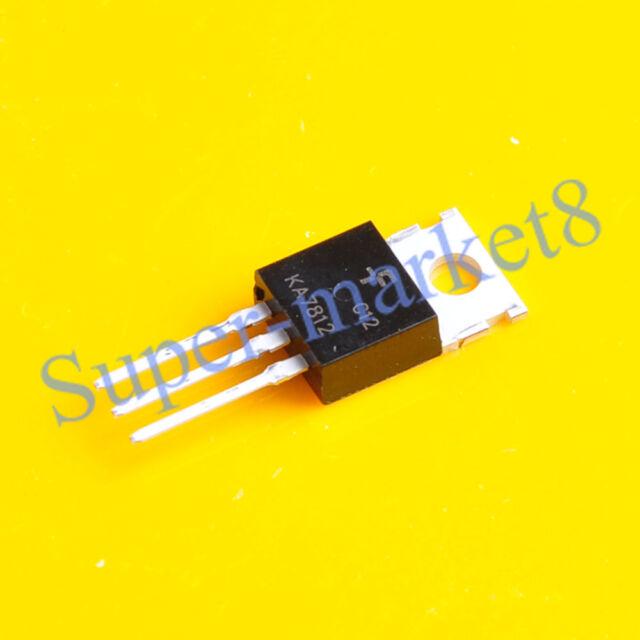 10pcs KA7812 KA7812ETU FSC Transistor TO-220 NEW