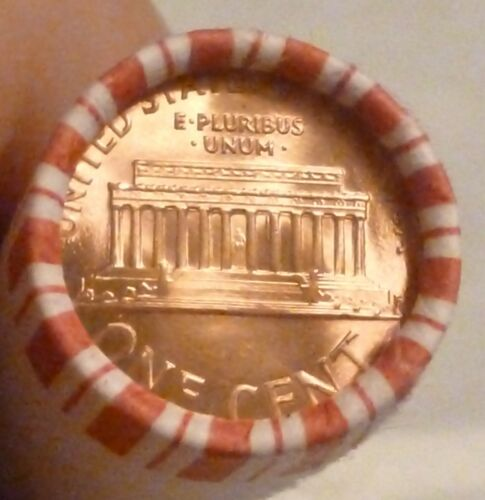 1995P LINCOLN MEMORIAL CENT UNCIRCULATED ORIGINAL PENNY SEALED ROLLS N.F STRING
