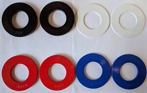 Fractionnaire poids plaques de couleur 0.25-1.0LB Paires (CHOISISSEZ TAILLE) micro Plaque de charge-afficher le titre d`origine NavG4fiP-07135641-394437527