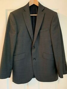 Austin Reed Mens Super 100 S Wool Regular Fit Jacket 38s Ebay