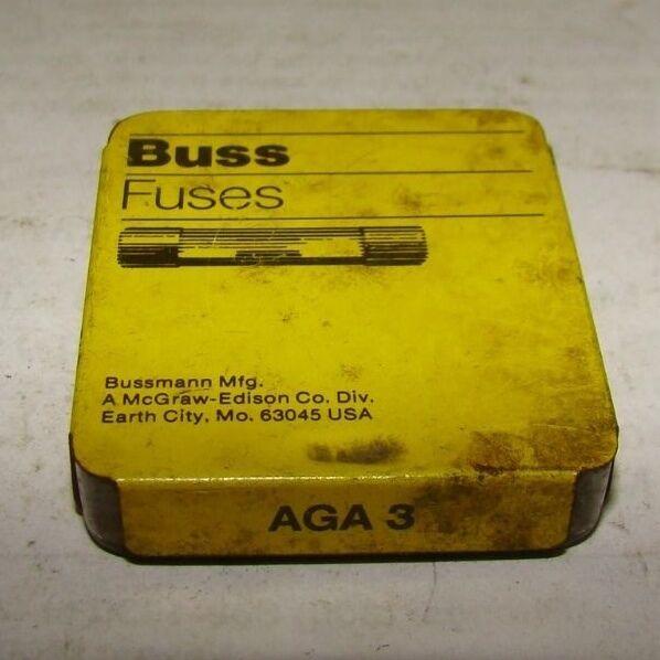5 pack C-2 Box New Buss Fuse AGA 30