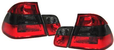 Facelift Rückleuchten rot schwarz für BMW 3ER E46 Limousine 98-01