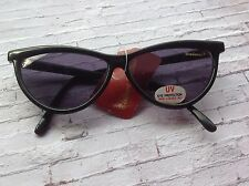 Vintage Bialucci Milano black cat eye style sunglasses rockabilly pin up retro