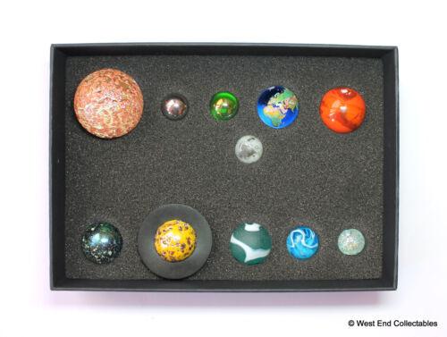 Système Solaire Orrery Globe Bille Collection en Écrin 11 Planètes Set