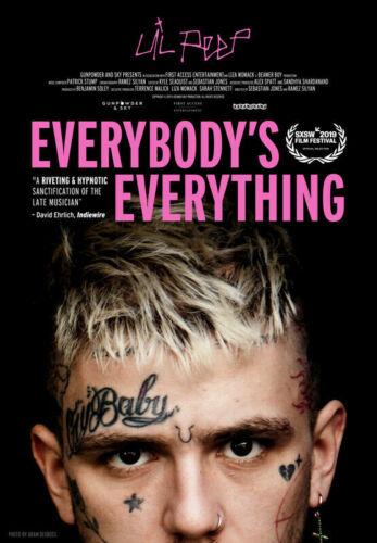 Everybody/'s Everything Poster Lil Peep Music Movie Art Wallpaper 42x61cm 60x88cm