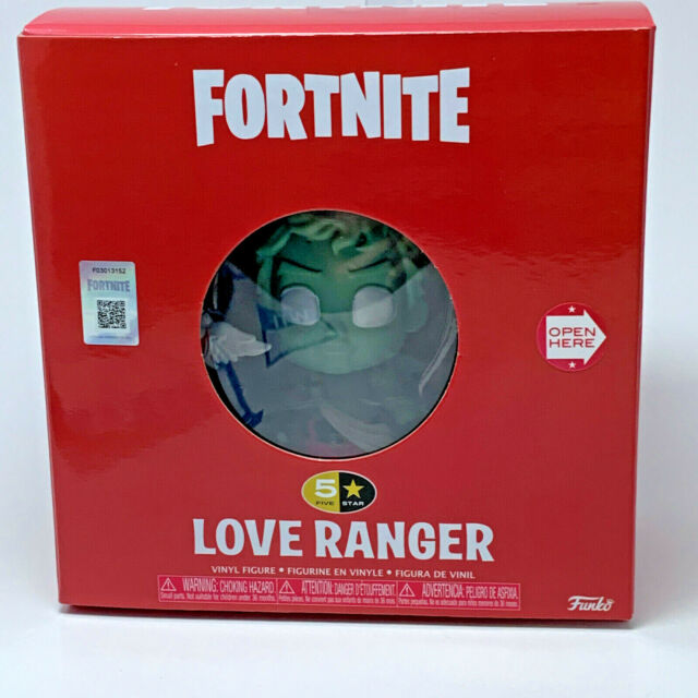 Funko Five Star Figure - Fortnite Love Ranger - Tracked Shipping from Canada !
