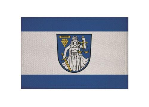 Ricamate Wilthen bandiera bandiera aufbügler Patch 9 x 6 cm