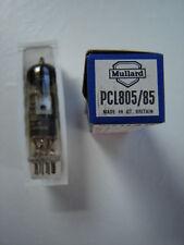 NEW MULLARD PCL805/85 – TRIODE OUTPUT PENTODE - (circa 1970's)