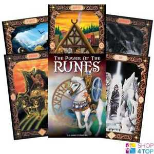 POWER-OF-THE-RUNES-KARTEN-DECK-ESOTERIC-TELLING-US-GAMES-SYSTEMS-NEU