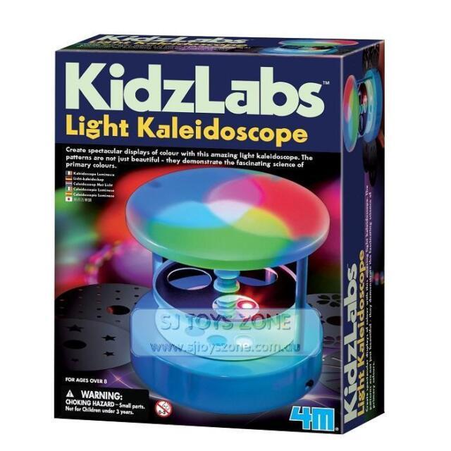 4M KidzLabs Light Kaleidoscope Science Kit Educational Activity for Kids