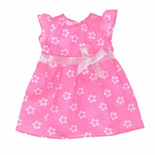 Bambole VESTITI rosa abito estivo vestito ali per ca 40 CM bambole 992...