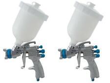 Devilbiss Slg 610 13 Starting Line Gravity Spray Gun For Solvent Paint Kit Of 2