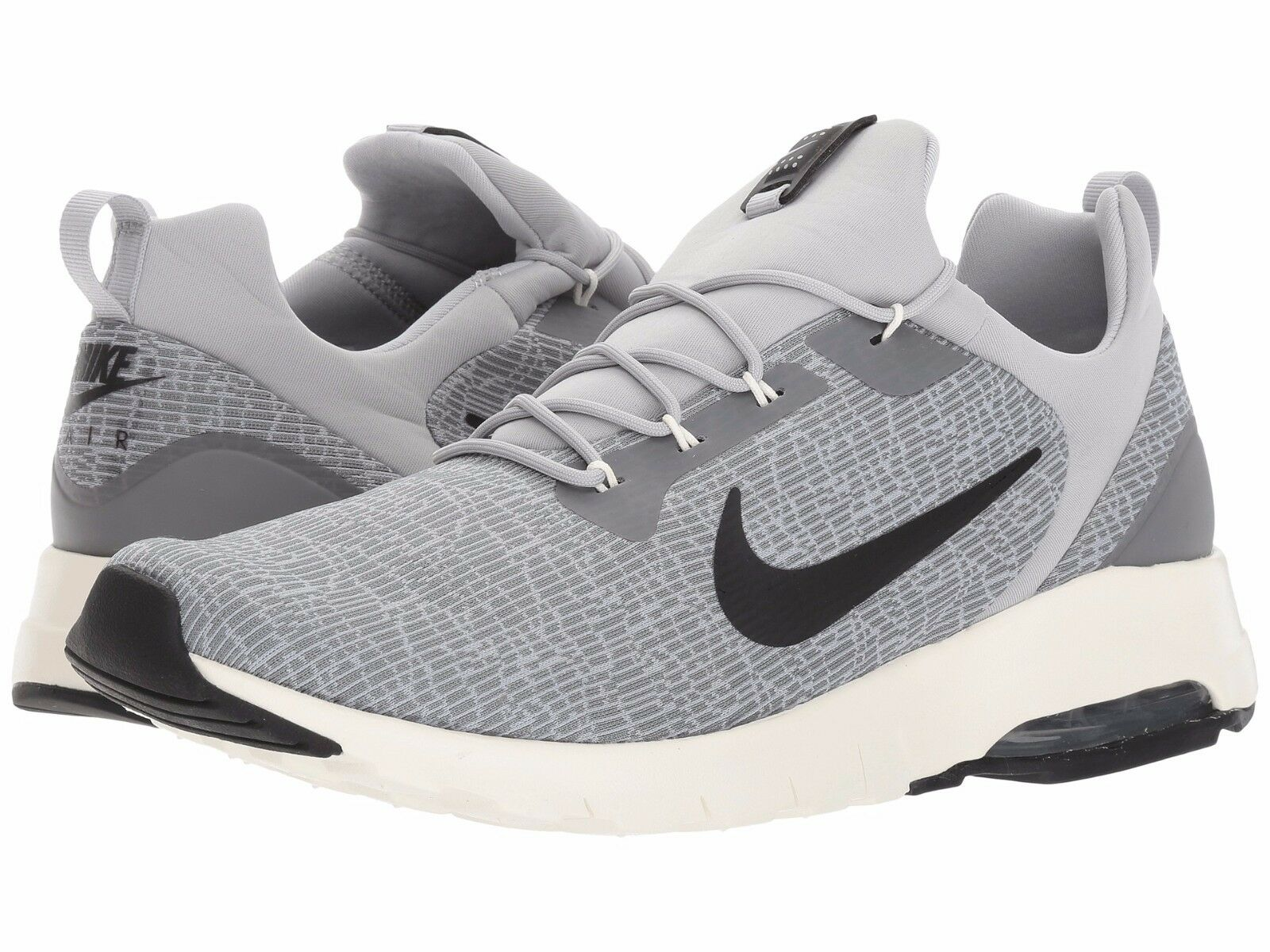 Great discount 916771-002 Men's Nike Air Max Motion Racer Running Wolf Grey/Blk Comfortable