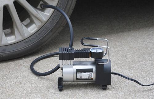120W 100PSI 35L//min Air Compressor LED Car 12V Portable Pump Auto Tire Inflator