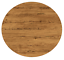new outdoor table top round 700mm commercial dining tops aged pine
