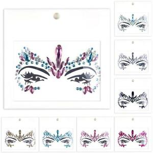 Body-Adhesive-Glitter-Stickers-Tattoo-Face-Gems-Rhinestone-Jewels-Party-Festival