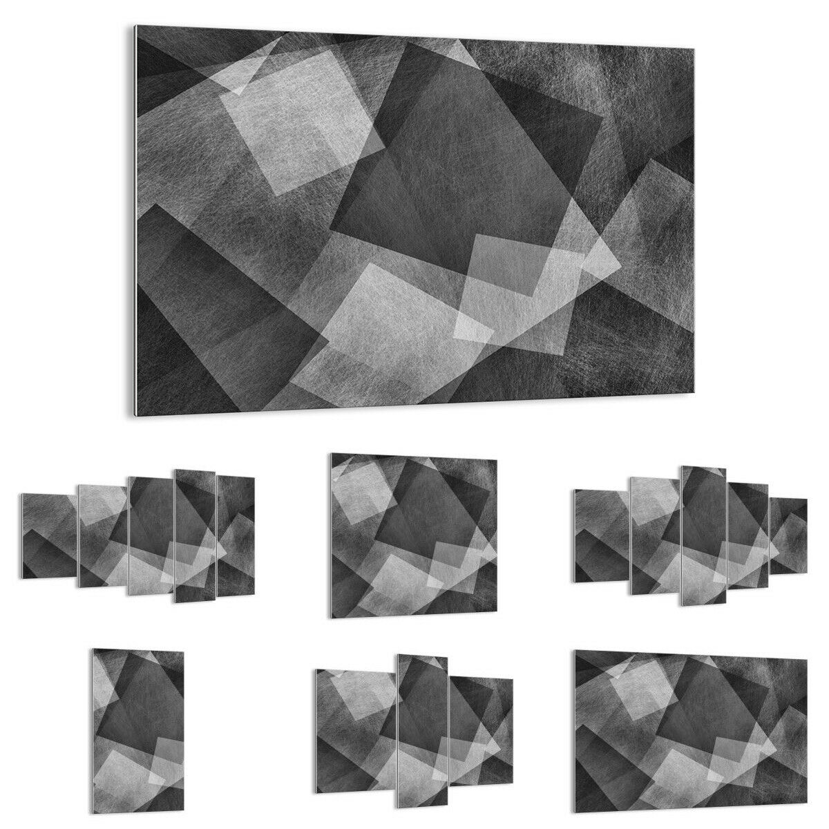 GLASS PRINTS Image Wall Art abstraction modern 3996 UK