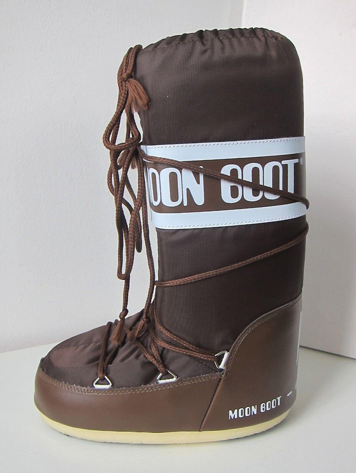 Tecnica Moon Boot nylon marrón /34 Moon Boots Moonboots Marrone Brown