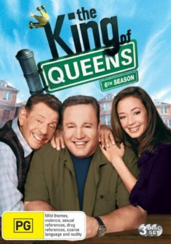 1 of 1 - The King of Queens: Season 6 (DVD, 2009, 3-Disc Set), NEW SEALED REGION 4
