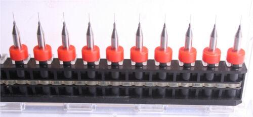 "10 Micro Drills 0.25mm //.0098/"" Printed Circuit Board Dremel Rotary tools Bits"