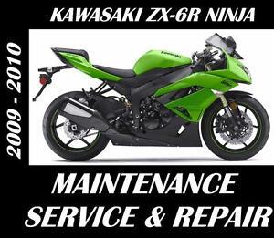 Kawasaki-ZX-6R-Ninja-ZX-600-Service-Repair-Maintenence-Rebuild-Manual-2009-2010
