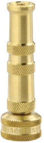 """Twist Hose Nozzle Melnor Green Thumb 2 Pack 4/"""" Brass"""