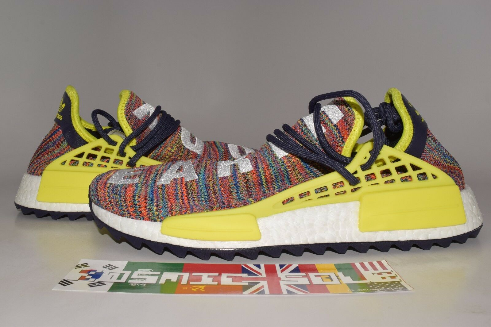 """Adidas PW Human Race NMD Trail """"Multicolor"""" AC7360 Size 11.5"""