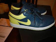 4302cd7b4ec2 item 1 Nike Air Jordan 1 Low Size 10.5 Squadron Blue - Electric Yellow  553558-417 + Box -Nike Air Jordan 1 Low Size 10.5 Squadron Blue - Electric  Yellow ...