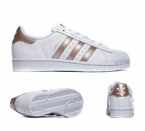 adidas superstar rose gold size 5
