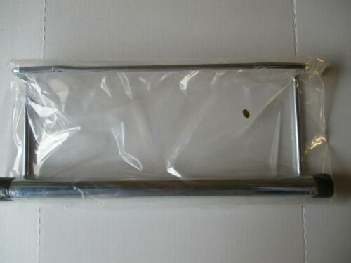 """Two Produce Roll bags Dispensers Chrome Plated for Produce roll up-to 12/"""" Wide"""