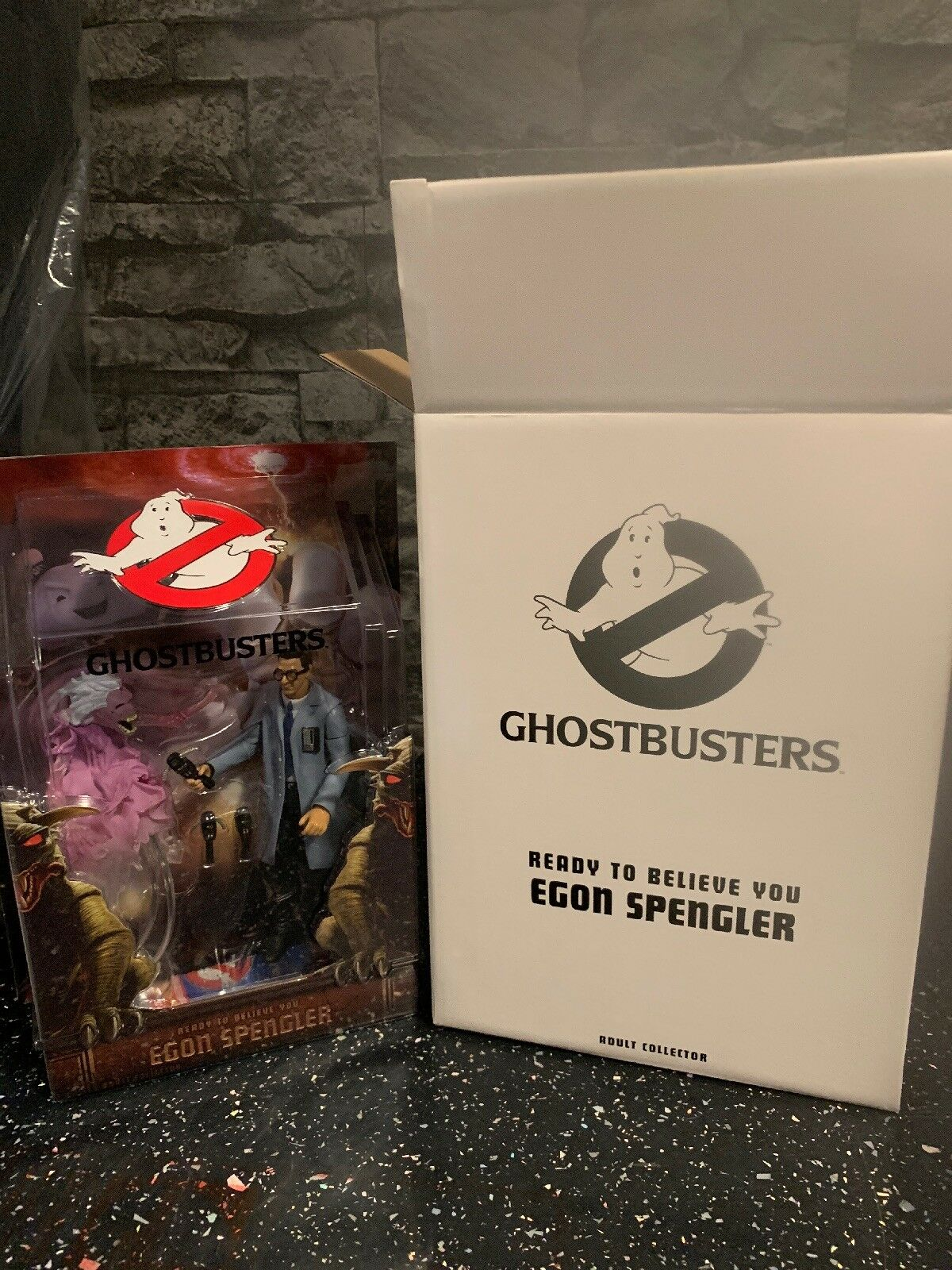 Matty Collector Ghostbusters Egon Spengler Ready To Believe Adult Collector New
