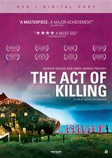 THE ACT OF KILLING New Sealed 2 DVD Set Errol Morris Werner Herzog