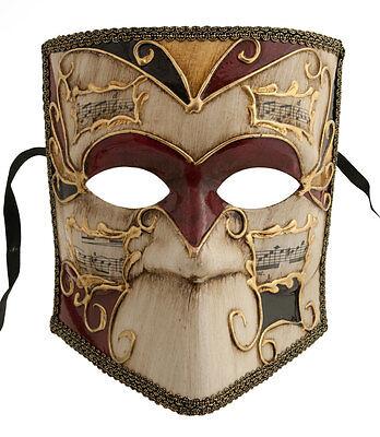 maske Venedig Bauta Asso Musica echt Carnaval Venetian 379 V69B V69B
