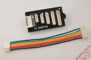 Balancer-Adapterplatine-2S-6S-von-EH-auf-JST-XH-z-B-Robbe-Kokam-Graupner